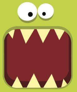Odontopediatría diseño verde claro