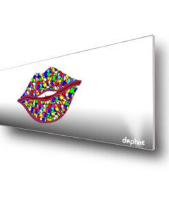 Diseño boca de colores