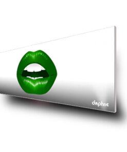 Boca odontología verde
