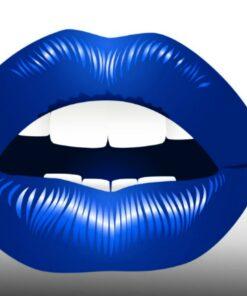 Boca odontología azul