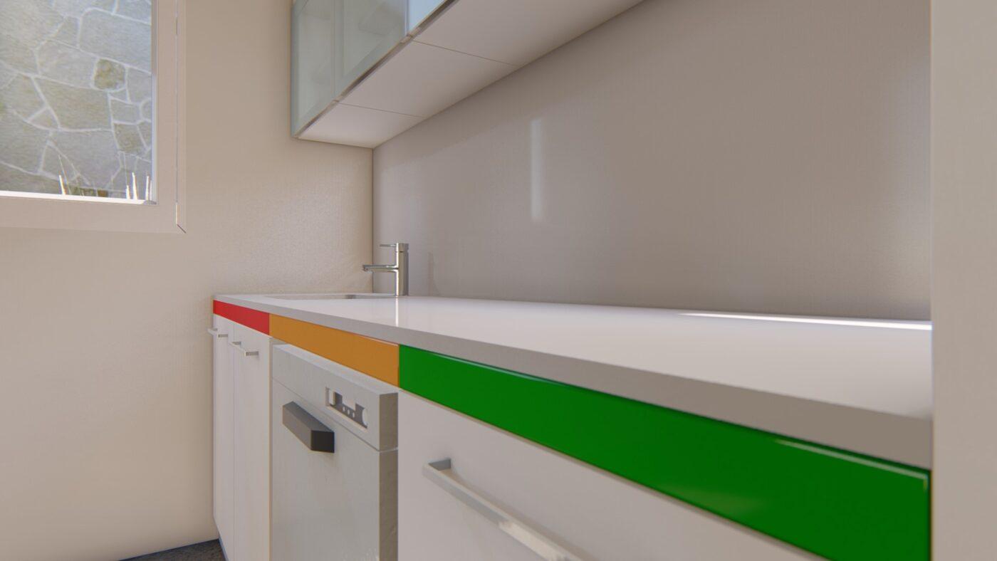 Muebles para sala de esterilización